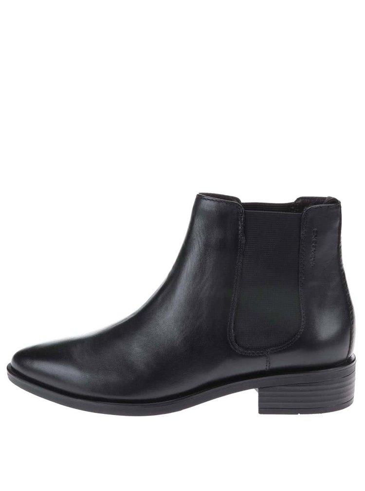 946d196d92 ... Čierne kožené chelsea topánky Vagabond Olga