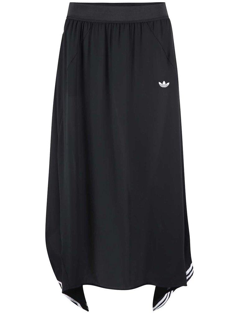 Černá delší sukně adidas Originals BRLN