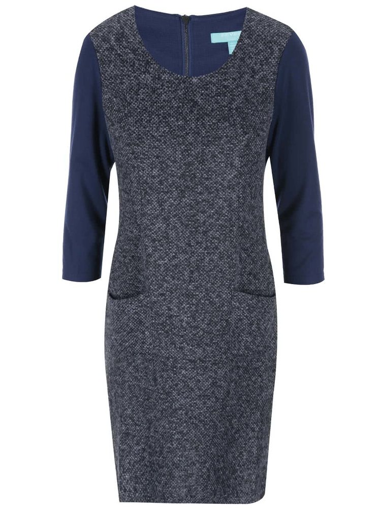 Modré šaty Fever London Manhattan Shift