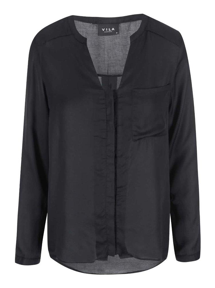 Bluză neagră VILA Treat