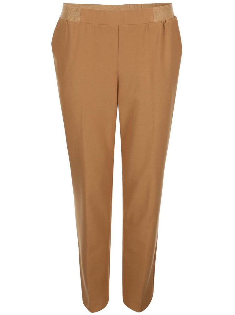 Pantaloni eleganți bej ONLY Tao