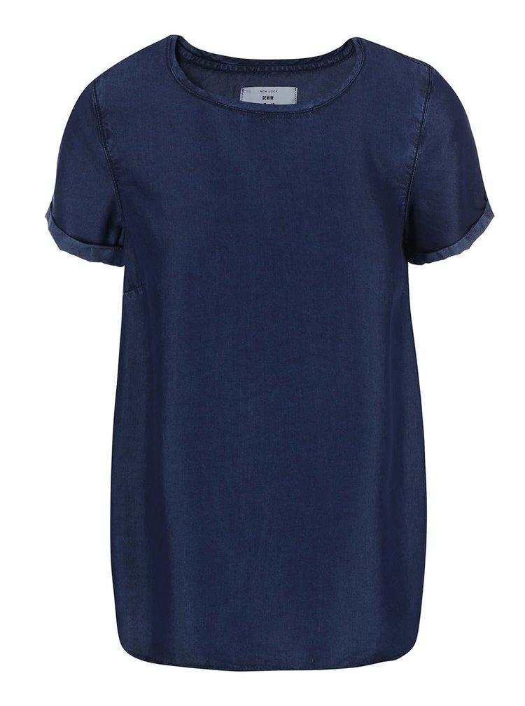 Bluză bleumarin New Look