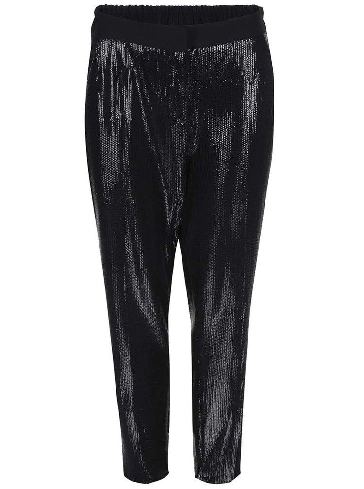 Pantaloni negri, cu paiete, de la Closet