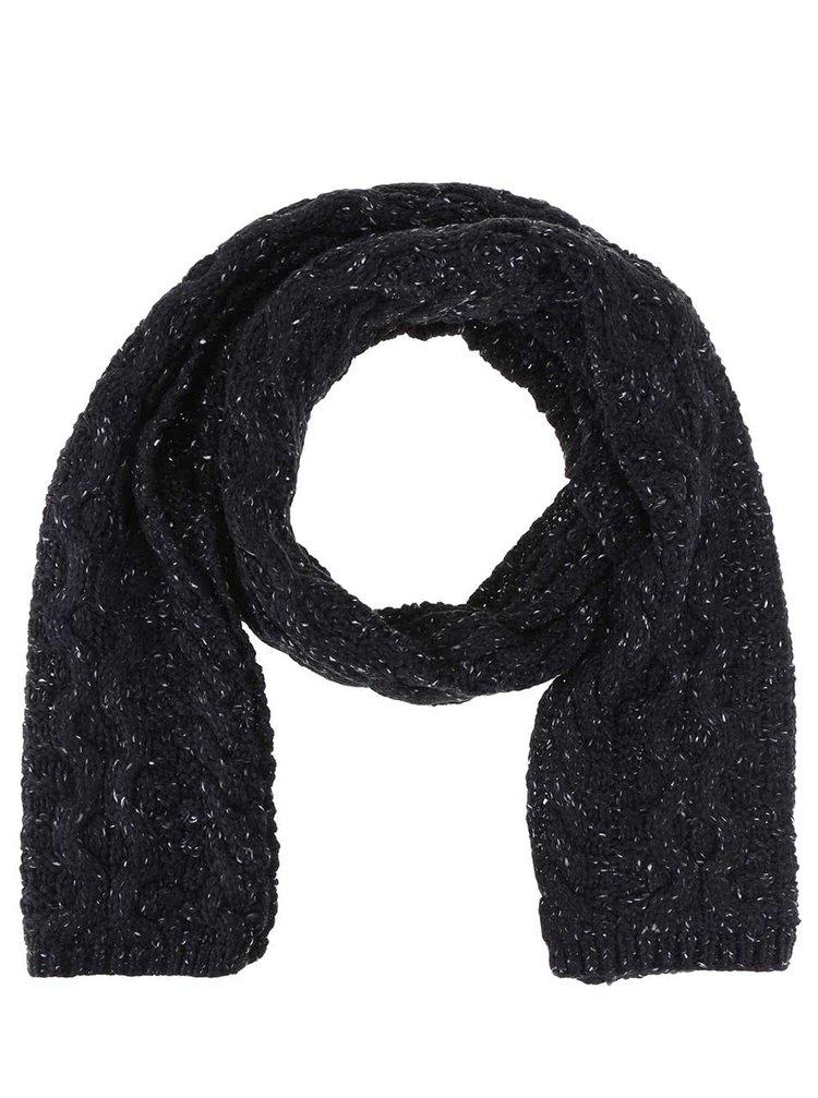 Fular bărbătesc - Rip Curl Torsade - Negru cu imprimeu