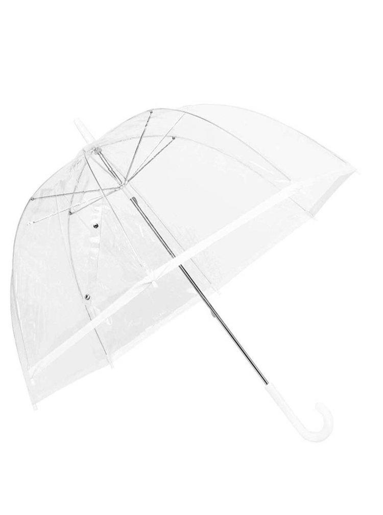 Plastový deštník s bílým okrajem Lindy Lou