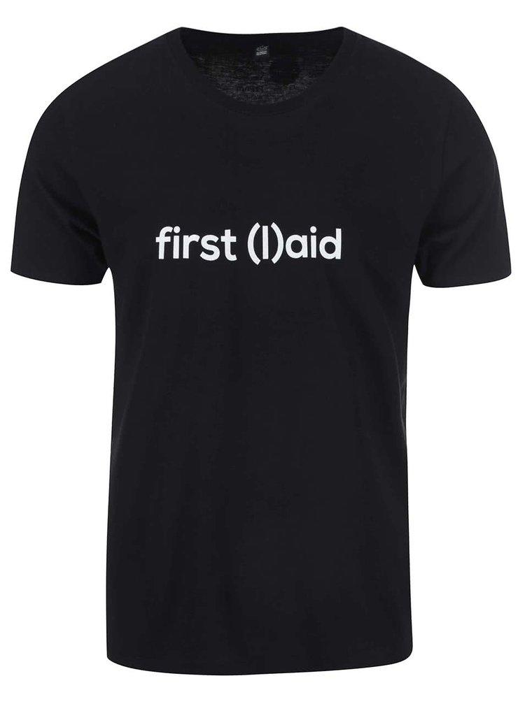 """""""Dobré"""" čierne pánske tričko pre PrPom"""