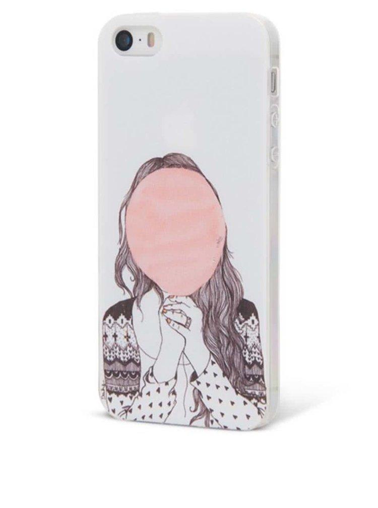 Ružový ochranný kryt na iPhone 5/5s Epico Hiding