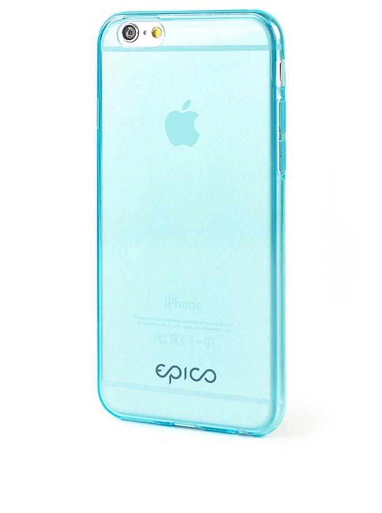 Modrý ultratenký transparentní kryt na iPhone 6 Epico Twiggy Gloss