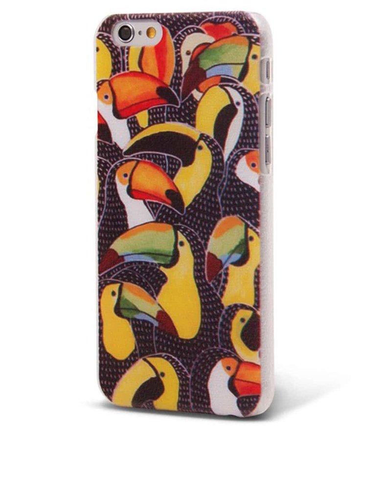 Barevný ochranný kryt na iPhone 6/6s Epico Tucans