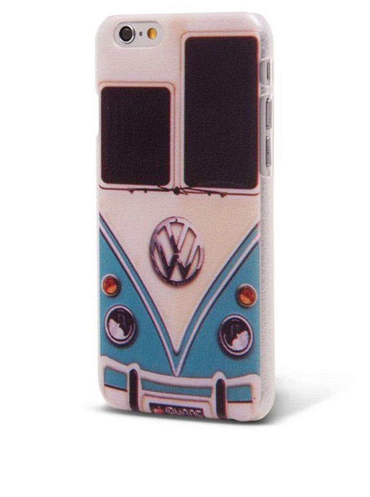 Modro-krémový ochranný kryt na iPhone 6/6s s autom Epico WV