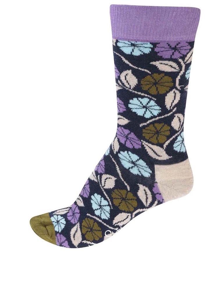 df417119e03 ... Barevné dámské květované ponožky Happy Socks Desert Flower