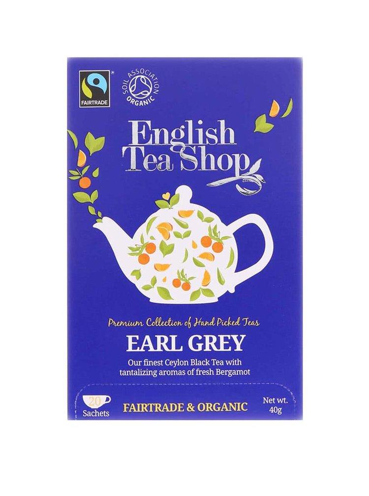Ceai negru Earl Grey English Tea Shop Bio