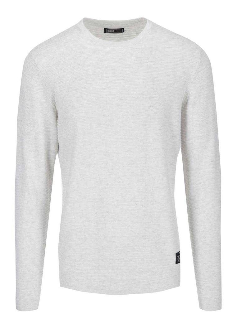 Krémový sveter s textúrou Jack & Jones Rain