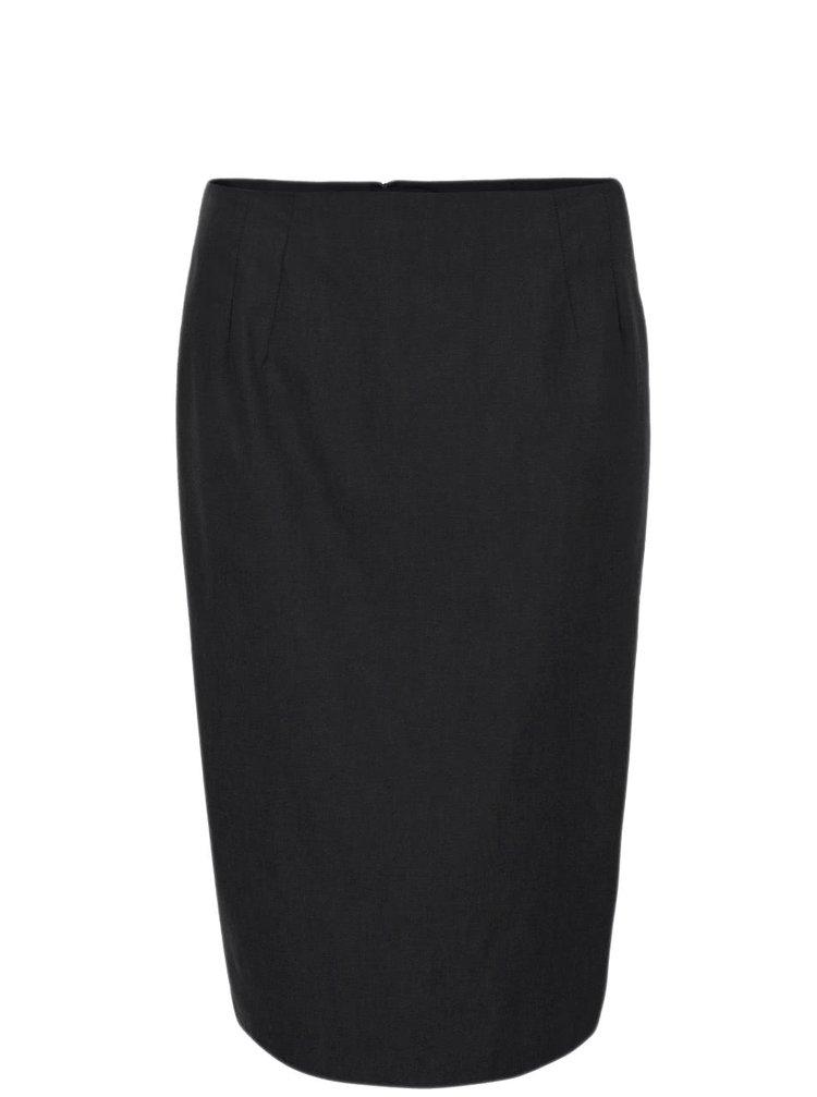Černá sukně do pasu Dorothy Perkins