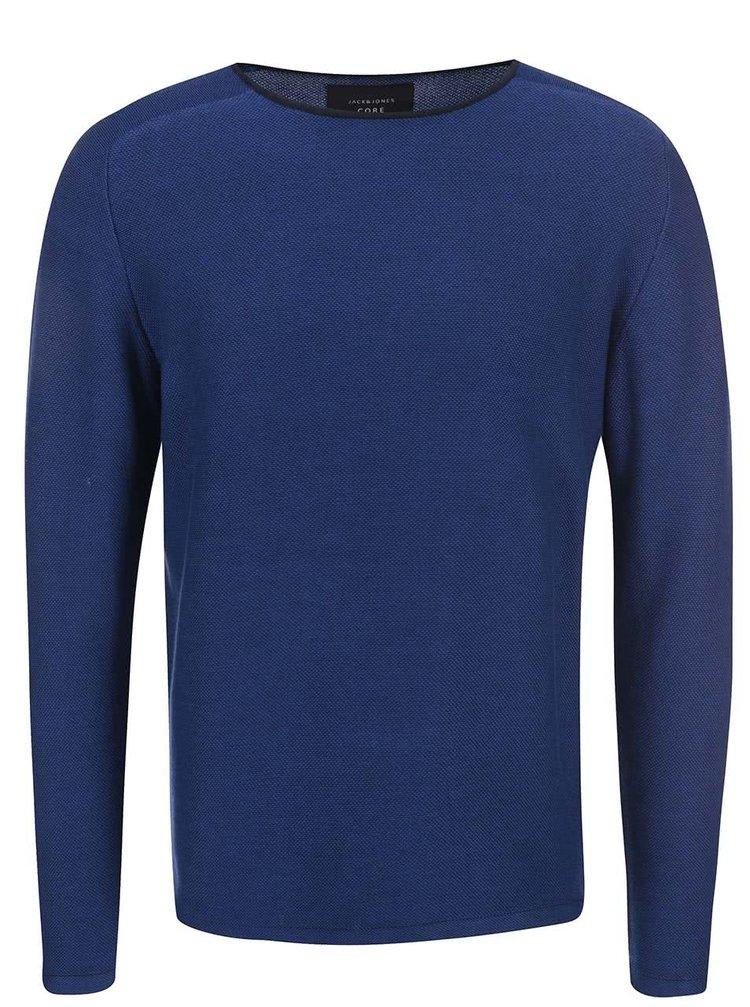 Modrý sveter Jack & Jones Jonathan