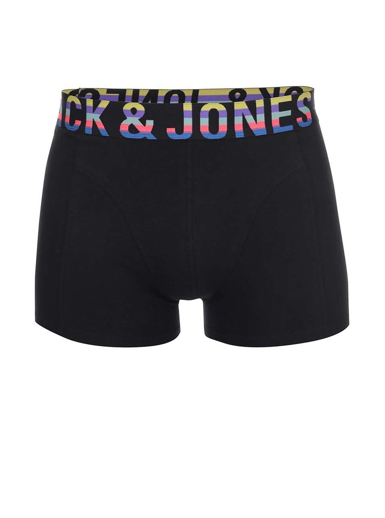 Čierne boxerky Jack & Jones Mix