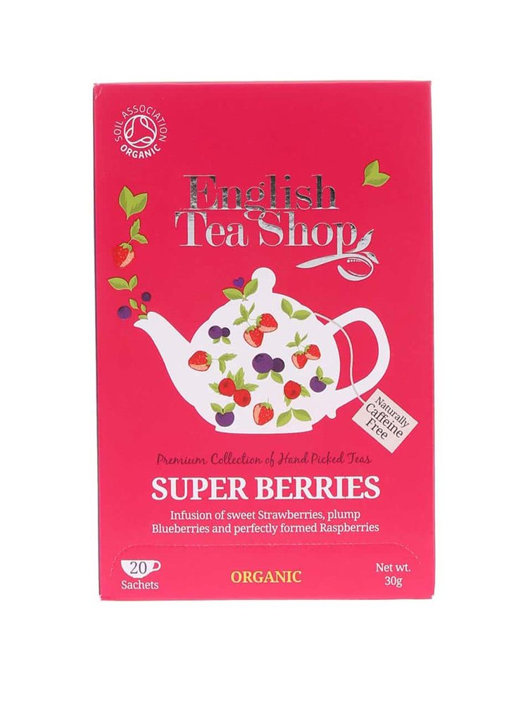 Ceai organic din fructe de padure  English Tea Shop