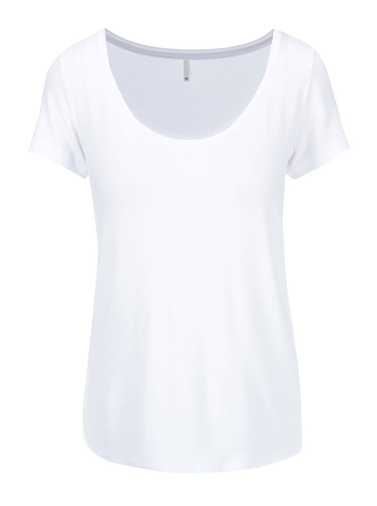 Tricou ONLY Jewel alb