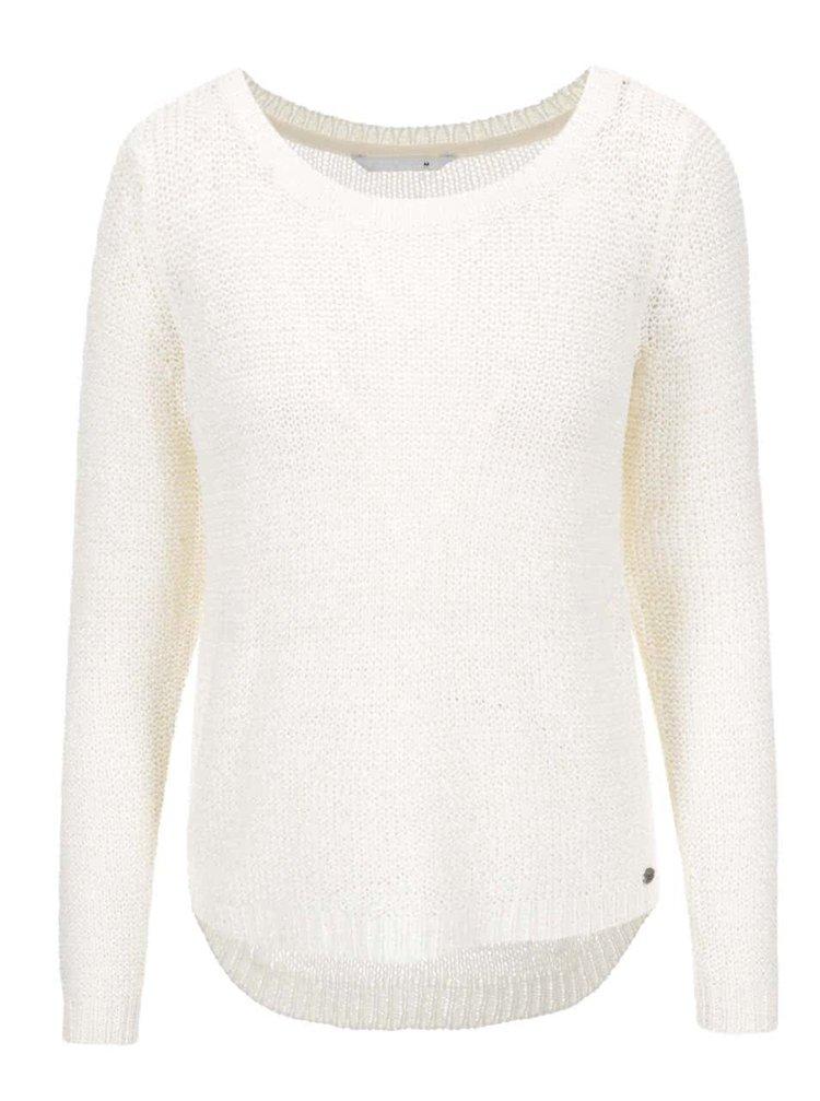 Krémový pletený sveter ONLY Geena