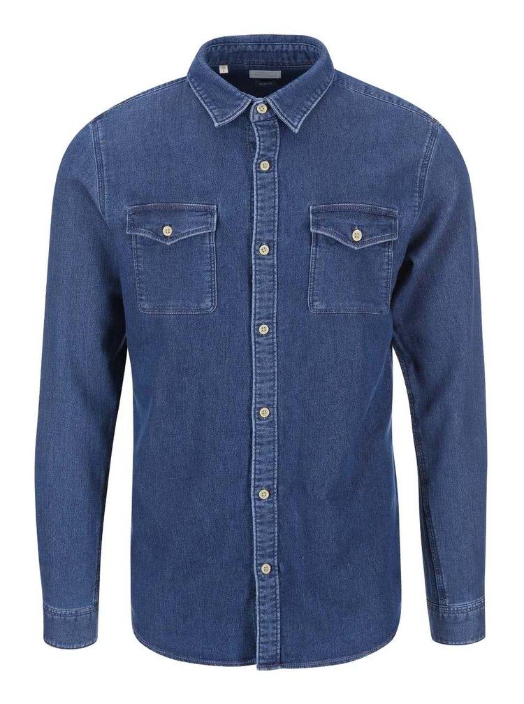 Modrá džínová košile Selected None