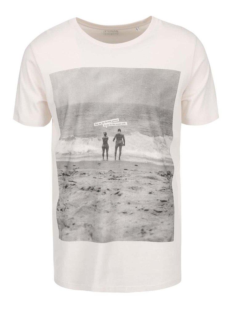 Krémové pánské triko ZOOT Originál You Are