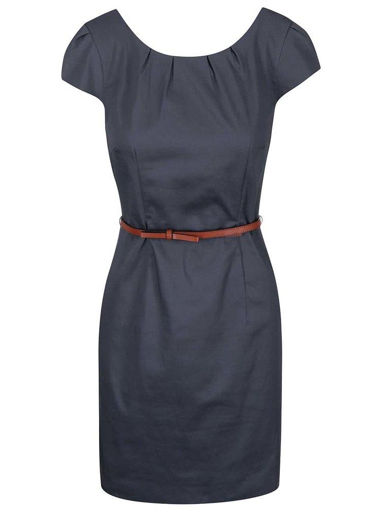 Rochie albastră cu curea VERO MODA Kaya