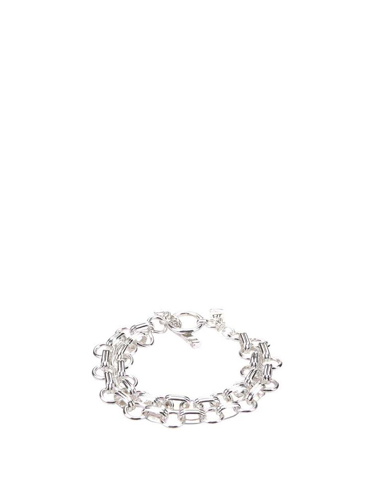 Brățară argintie Icon Brand Superconnected