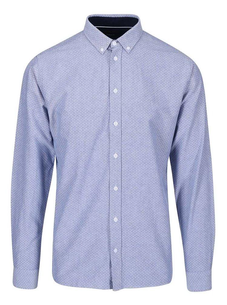 Světle modrá košile s tečkami Casual Friday by Blend