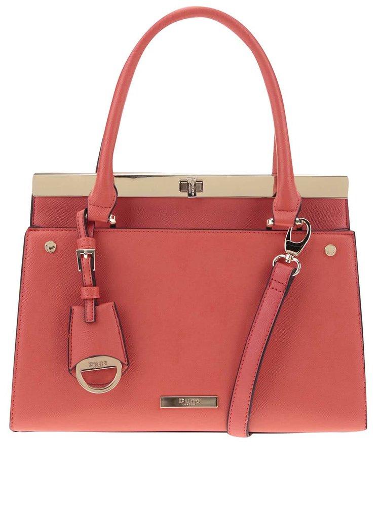 Červená kabelka do ruky Dune London Dusty
