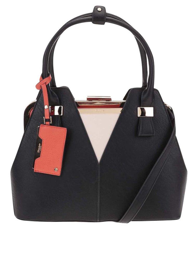 Čierna menšia kabelka Dune London Dorah