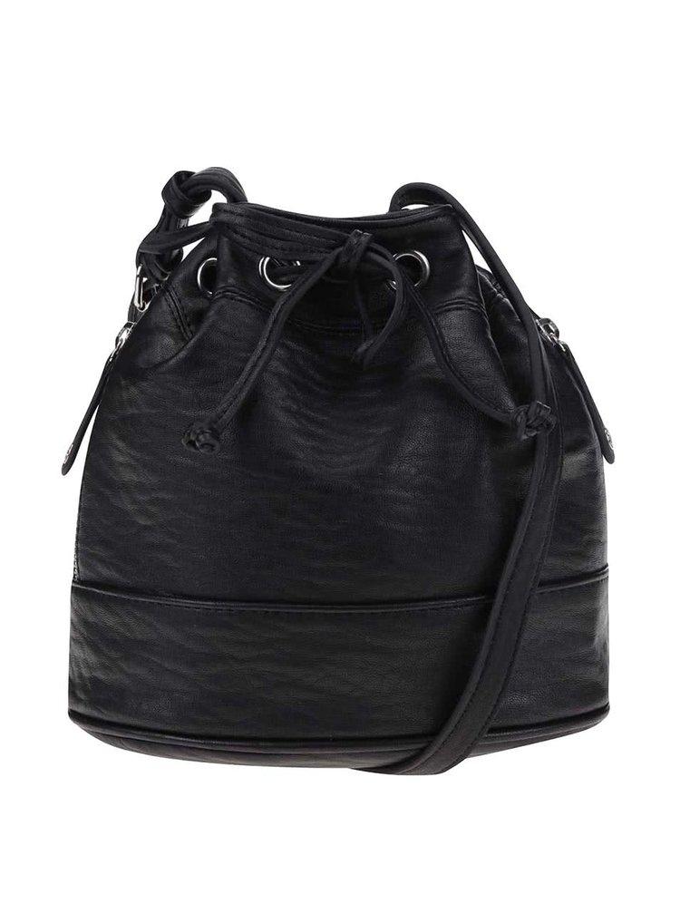 Čierna sťahovacia kabelka Pieces Tessa