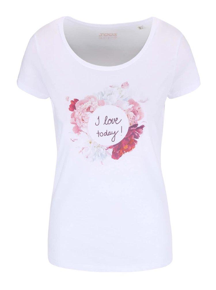 Bílé dámské tričko ZOOT Originál I Love Today