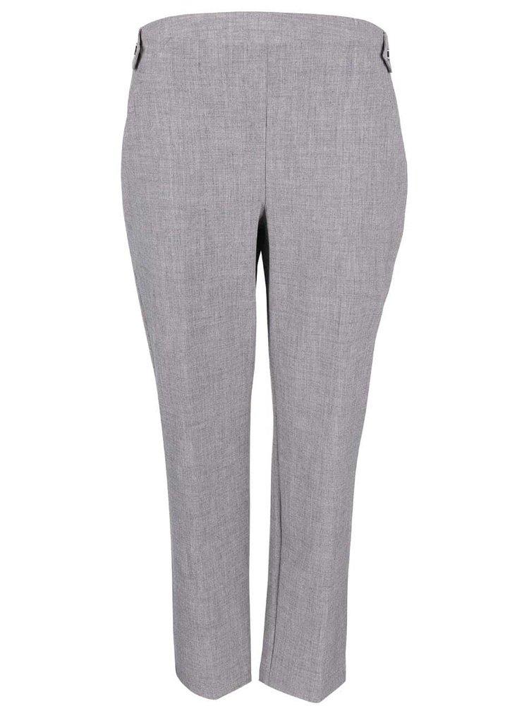 Sivé rovné formálne nohavice Dorothy Perkins