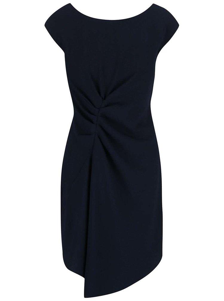 Rochie Closet bleumarin cu talie plisată