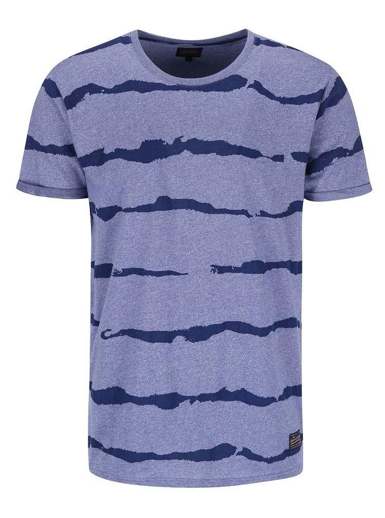 Světle fialové vzorované triko !Solid Bryatt