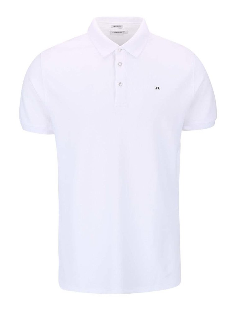 Tricou Polo J.Lindeberg Rubi alb