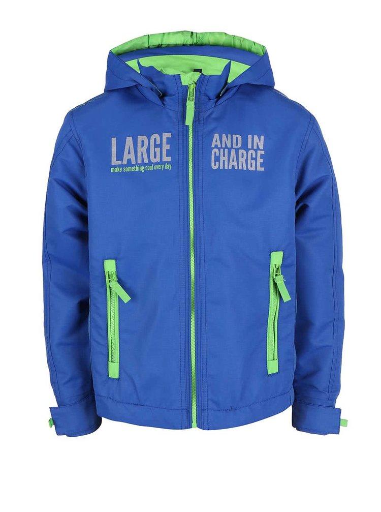 Jachetă Blue Seven pentru băieți verde și albastru