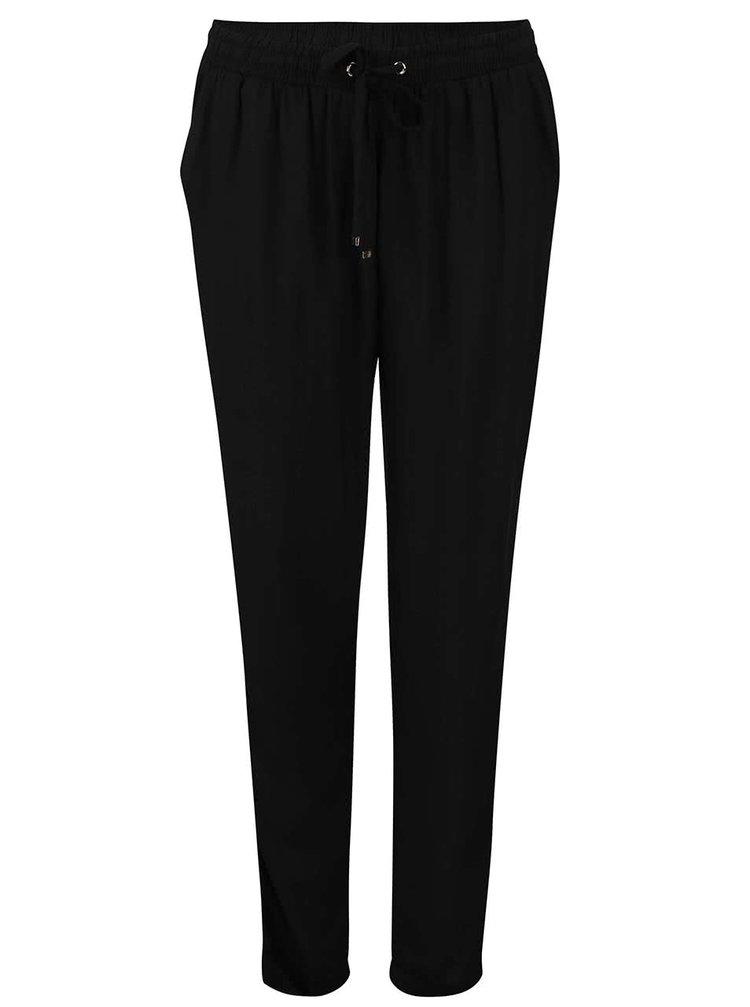 Černé volnější kalhoty Dorothy Perkins