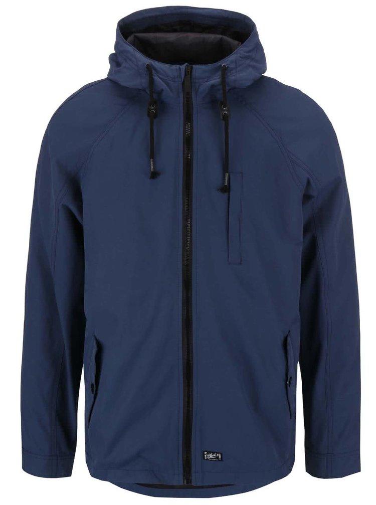 Jachetă Blend cu glugă, albastru/navy