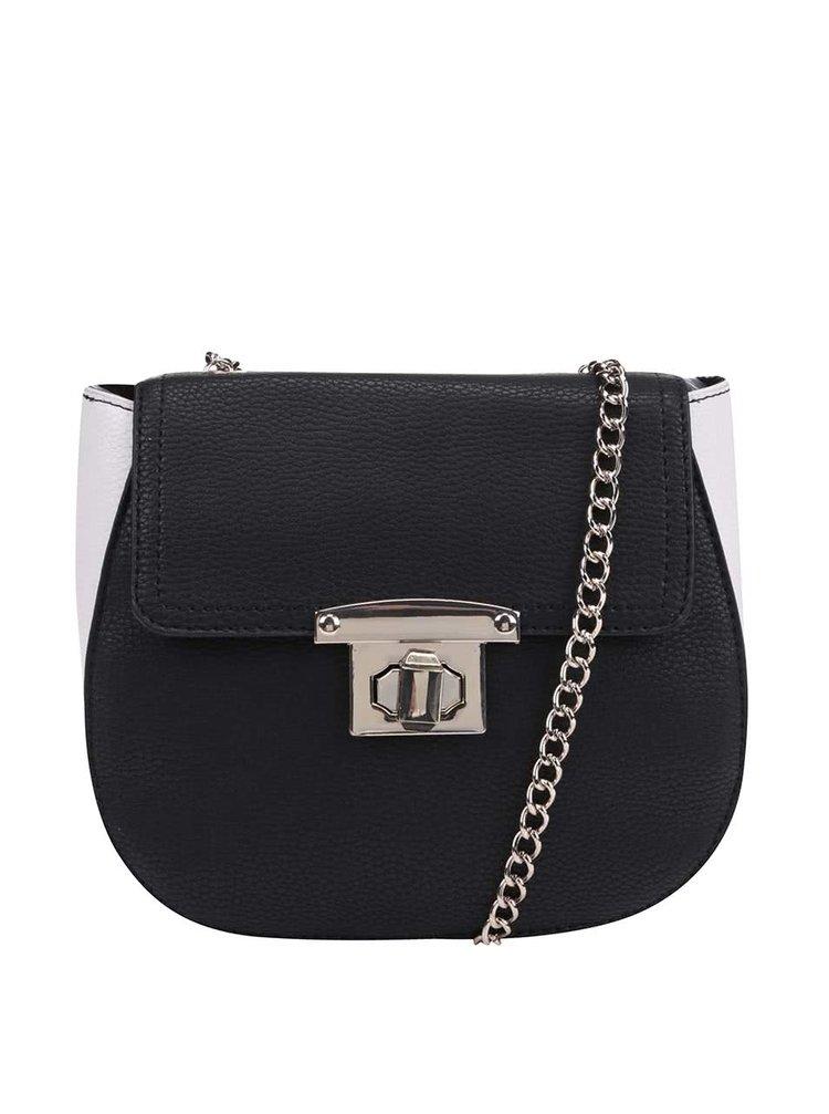 c71fd2bee2 Čierno-biela malá crossbody kabelka Dorothy Perkins