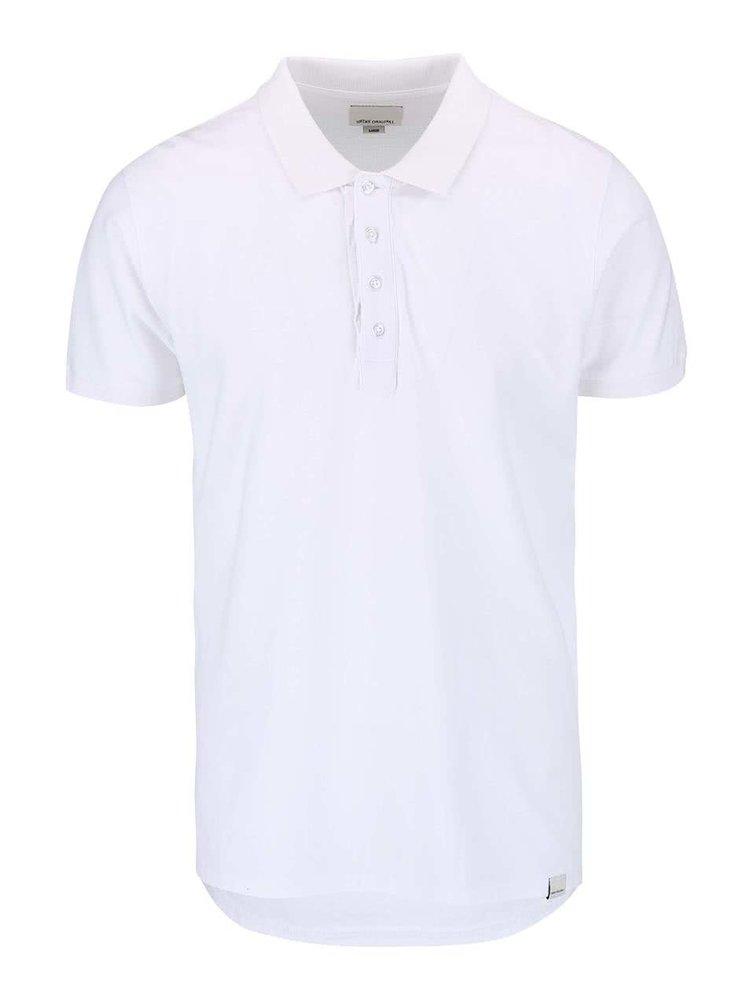 Tricou Polo Shine Original Rider de culoare albă
