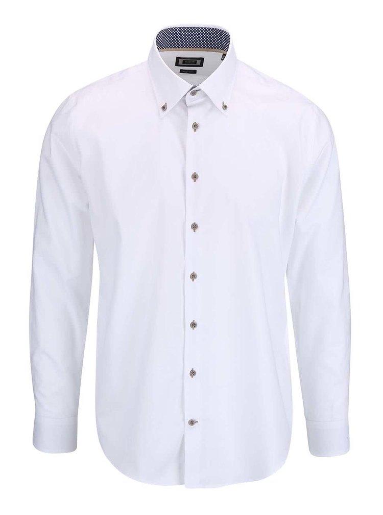 Biela pánska košeľa bugatti