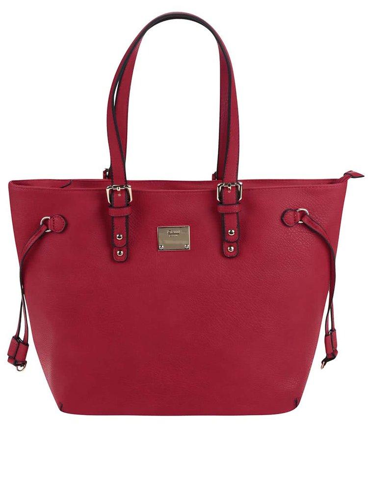 Červená kabelka Gionni Alina