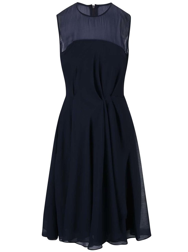 Rochie French Connection Sunray bleumarin
