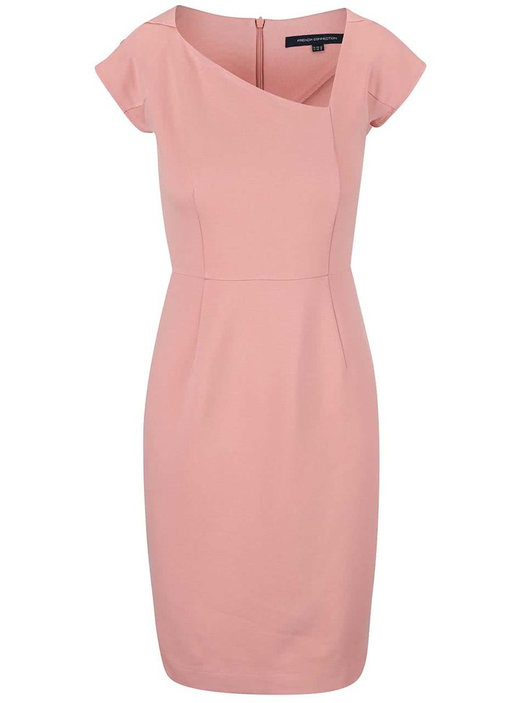 Rochie French Connection Lula roz