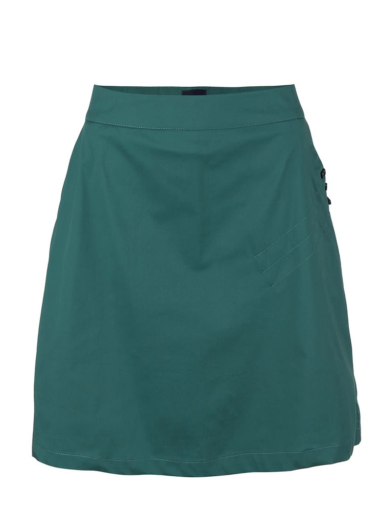 Zelená sukňa Skunkfunk Hestia