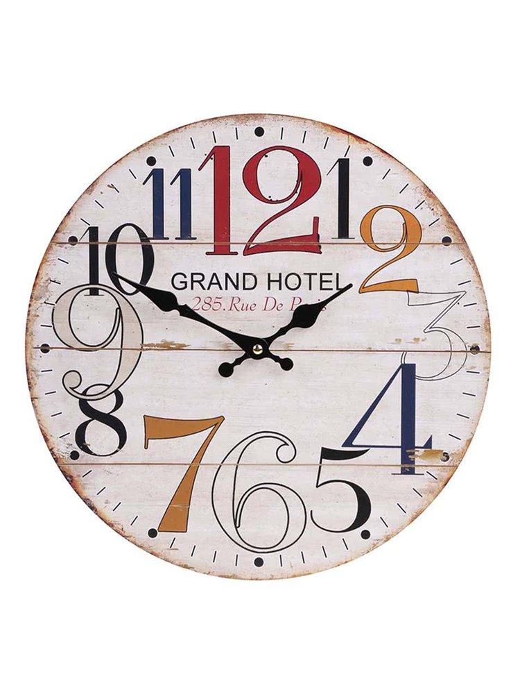 Drevené hodiny Dakls Grand Hotel