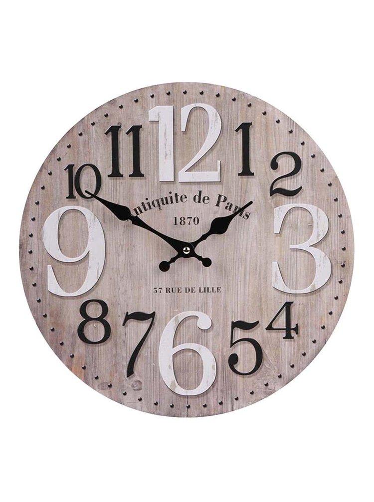 Drevené hodiny Dakls Antiquite de Paris