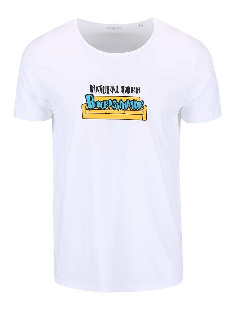 Biele pánske tričko ZOOT Originál Natural