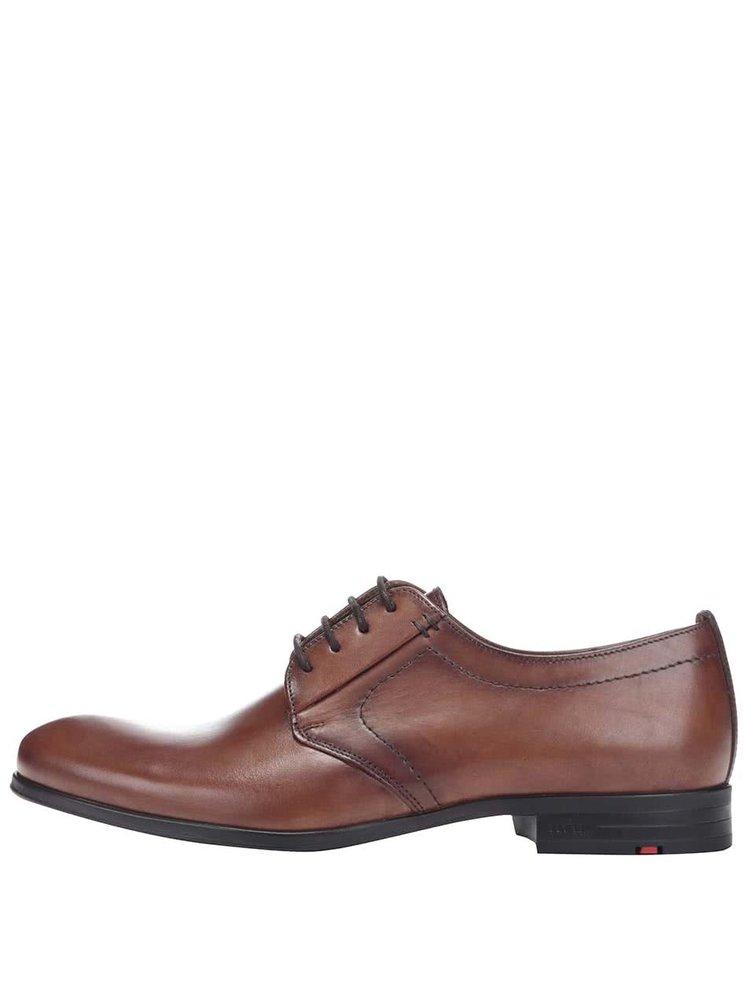 Pantofi Lloyd Dorian maro pentru bărbați din piele